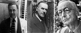 섬네일 : 왼쪽부터 스콧 피츠제럴드, 토마스 만, 헤르만 헤세